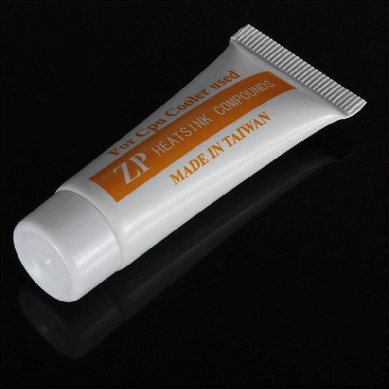 купить New 10pcs Arrival 22g High Performance Thermal Grease Paste Compound For CPU Fan Heatsink Glue Compound Cooler Tube по цене 681.91 рублей
