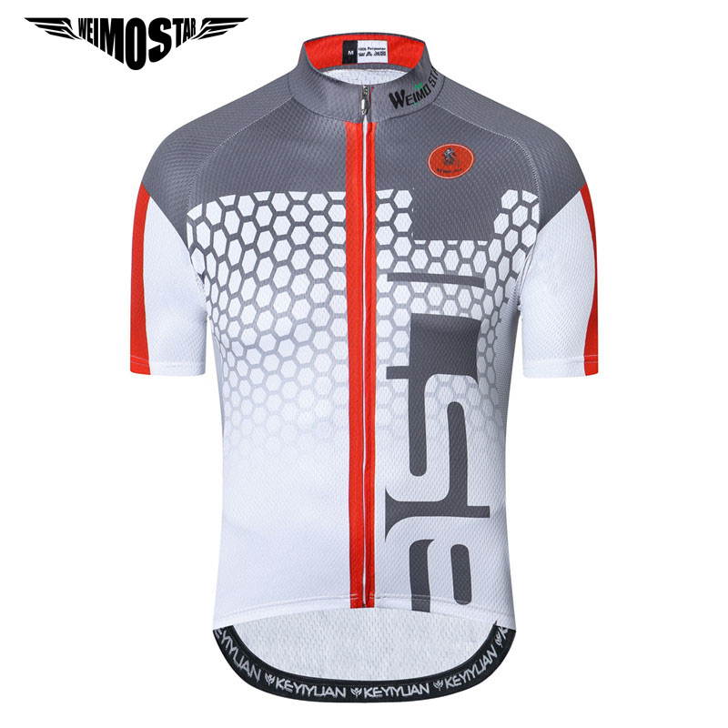 Weimostar 2019 Pro Team Cycling Jersey Top Summer Men Racing Bicycle Cycling Clothing Ropa Ciclismo Summer Mtb Bike Jersey Shirt