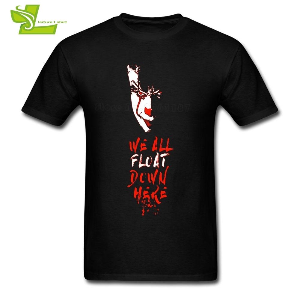 T-shirts Tops & Tees Pennywise Man T Shirt Popular Customized Loose T-shirt Men Summer 100% Cotton Tshirts Teenboys Newest Simple Tee Shirt Clown