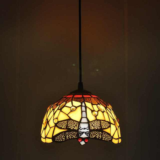 Fabriek Continental warm dragonfly kroonluchter Tiffany van ...