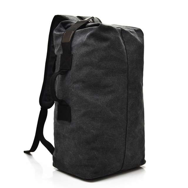 2018 Large Capacity Rucksack Man Travel Bag Mountaineering Backpack Male Luggage Boys Canvas Bucket Shoulder Bags Men Backpacks 4