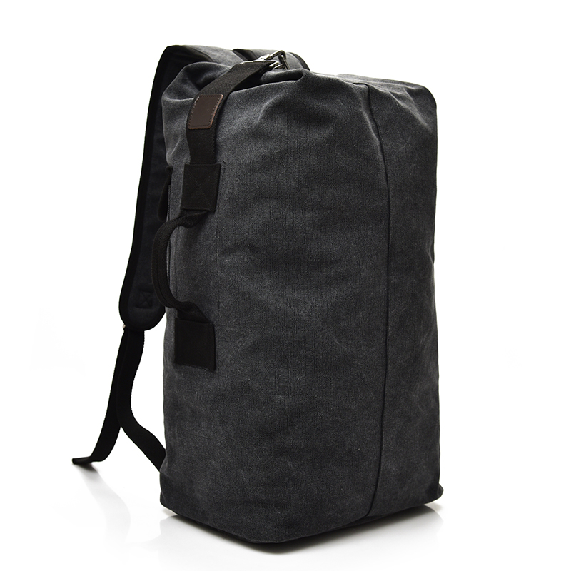 Large Capacity Rucksack Man Travel Bag Mountaineering Backpack Male Luggage Boys Canvas Bucket Shoulder Bags Men Backpacks #5