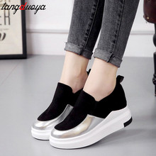 New arrival Wedges Platform Women Shoes Casual Trainers Wedge Zapatillas Mujer Plataforma 2019