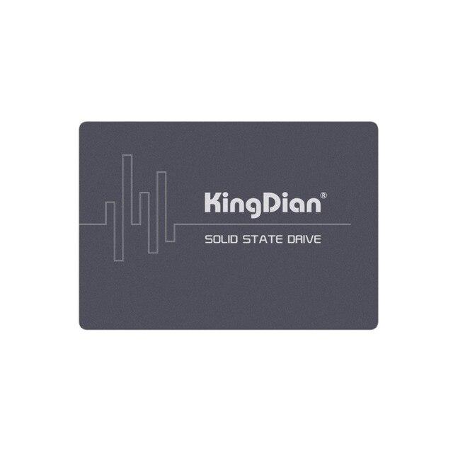 KingDian SSD SATA3 2,5 дюймов 60 ГБ 120 г 128 г 240 ГБ 256 г 480 512 г 1 ТБ жесткий диск HD HDD (официальные прямые продажи)