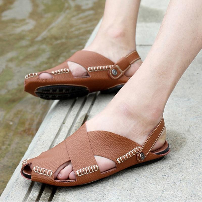 Men casual flat sandals slipper for men