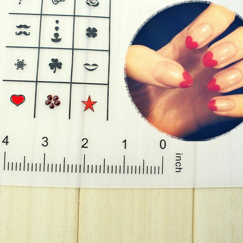 Nail Practice Silicone Coloring Pad Mat Polish Sticker Stamping Guide Printing Transfer Table Cover Tools