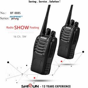 Image 2 - Baofeng Walkie Talkie BF 888S 888s, 5W, 400 470MHz, UHF, BF888s, BF, 888S, H777, Cargador USB de Radio bidireccional barato, 2 uds., 4 Uds., 10 Uds.