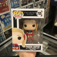 Funko pop Official Television: Friends Superhero Pheobe Vinyl Action Figure Collectible Model Toy with Original Box
