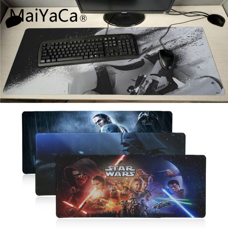 MaiYaCa  Star Wars Mouse Pad Gamer Play Mats BIG SIZE Rubber Game Mouse Pad For Game Playing Lover