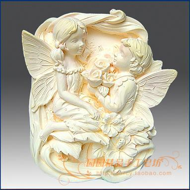 Angel Silicone Soap mold DIY Handmade Craft 3d soap molds S204Angel Silicone Soap mold DIY Handmade Craft 3d soap molds S204