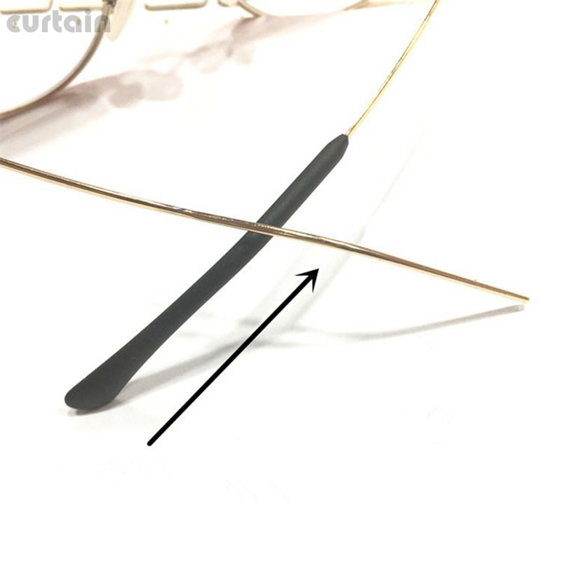 10Pairs/20Pcs Soft Comfortable Glasses Eyeglasses Spectacle Temple Tips End Arm Cover Ear Tubes Accessories ZXY9435