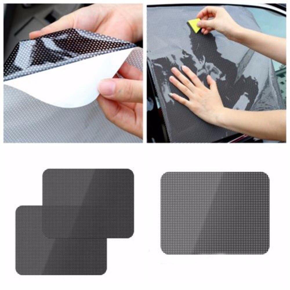 Car Side Rear Window Sun Shade Sun Visors Car Window Shading Cover Car Sticker Block Static Cling Visor Shield Screen Stickers