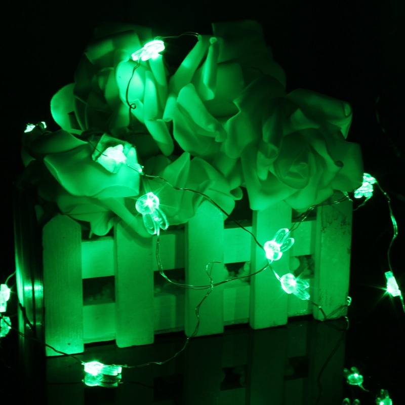 Mising Rabbit Shaped 2M 20 LED String Light Battery Operated LED String Fairy Light Chirstmas Party Wedding Decor Lamp