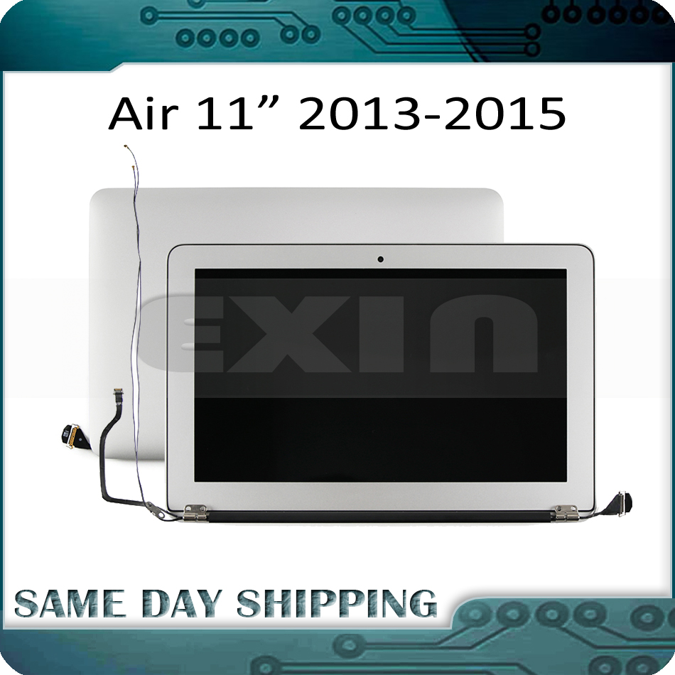 EXIN 100% Genuine NEW! for MacBook Air 11 A1465 LCD Screen Display Full Assembly 2013 2014 2015 Year 661-7468 661-02345EXIN 100% Genuine NEW! for MacBook Air 11 A1465 LCD Screen Display Full Assembly 2013 2014 2015 Year 661-7468 661-02345