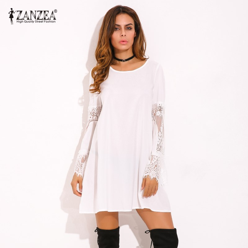 2019 ZANZEA ქალის - ქალის ტანსაცმელი - ფოტო 4
