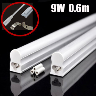 LED Lamp T5 LED Tube Light 300mm 5W / 600mm 9W 900mm 1200mm 18w LED Light AC110V 220V 240V or Solar 12v Epistar SMD 2835 lamp