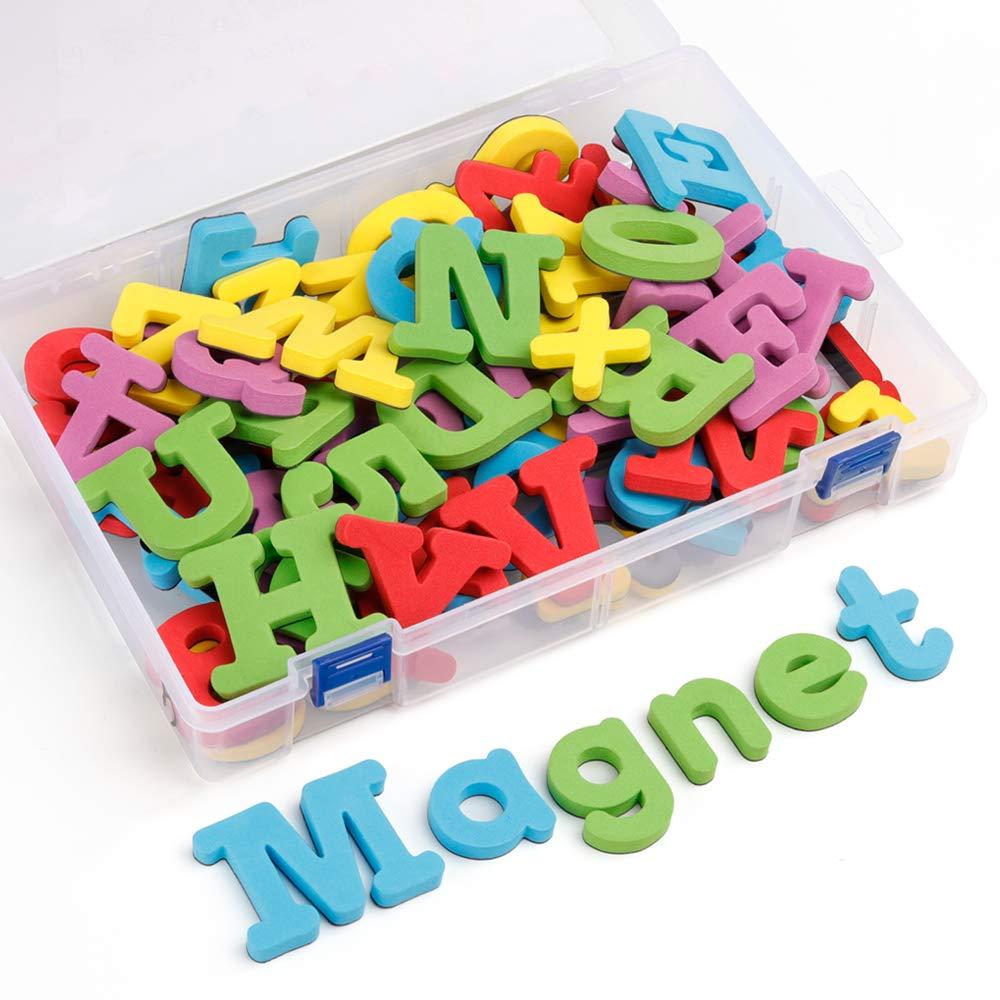 Números magnéticos imanes para refrigerador magnético Letras A-Z Aprender Matemáticas