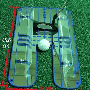 Image 4 - חדש גולף לשים בפועל מאמן להתבטל מראה בפועל אימון גולף סיוע חזק וללבוש עמיד לדחוף מוט קשר מראה