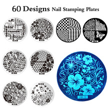 Negative Space Nail Art Stamping Stamp Template Image Plates Cool Triangle Nail Stamp Plate 60 Stencil Tools For Choose