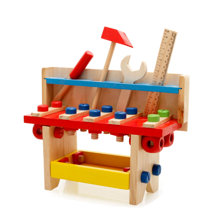 Chanycore Baby Learning Educational Wooden Toys Blocks Screws Nuts Assemblage Geometric Shape Table mwz Enlightenment Gifts 4194 15 holes intelligence box wood geometric blocks baby learning assemblage toys