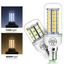 Ampoule Led E14 Corn Light 220V Lampada E27 Lamp 5050SMD Energy Saving Candle Bulb High Brightness Chandelier Home Lighting