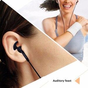 Image 5 - Cuffie cablate da 3.5mm con microfono controllo del Volume remoto auricolare sport stereo auricolare per Samsung Galaxy S6 S7 edge S8 S9 S10 E PLUS