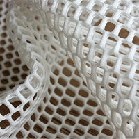 The Knitted Polyester Lace Fabric Grid Mesh Weft Luxury Dress Fabric Polyester Textured Fabric 150cm 5yards