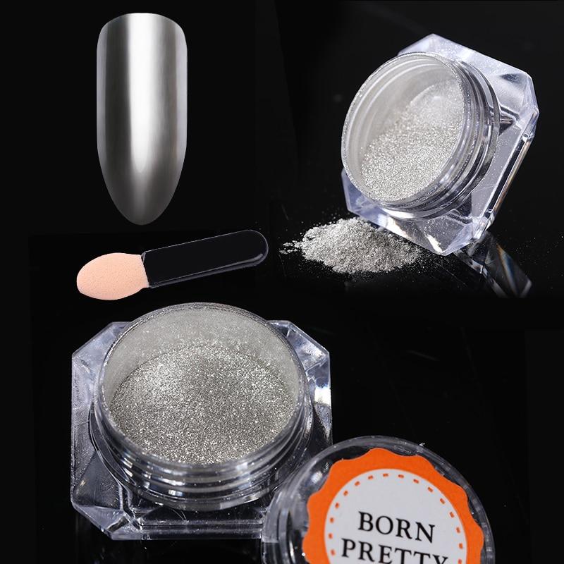 Nail Glitter Mirror Powder Holografische Chameleon Chrome Pigment - Nagel kunst - Foto 3