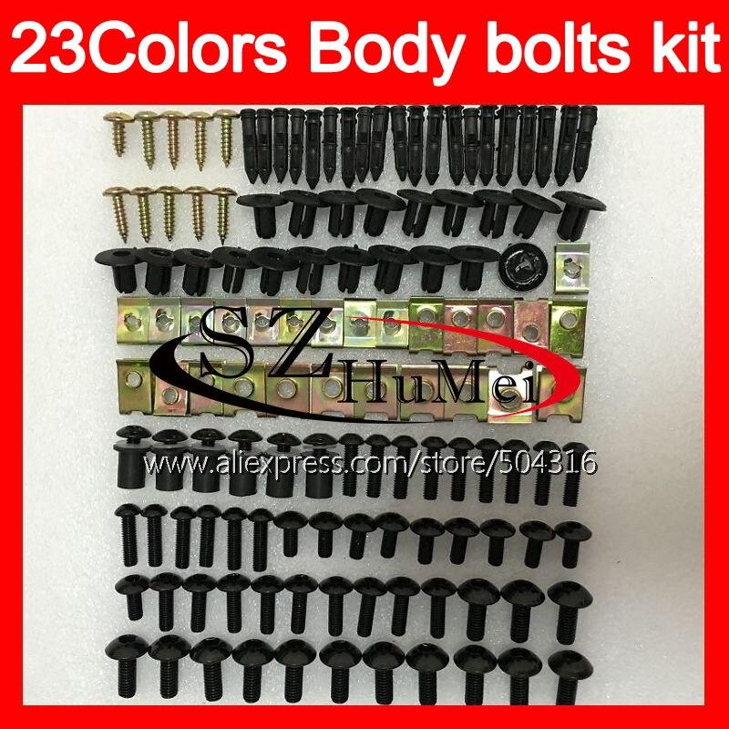 Boulons de carénage kit de vis complet Pour YAMAHA T-MAX500 08 09 10 11 TMAX500 T MAX500 2008 2009 2010 2011 11 Pare-Brise boulons vis Écrous