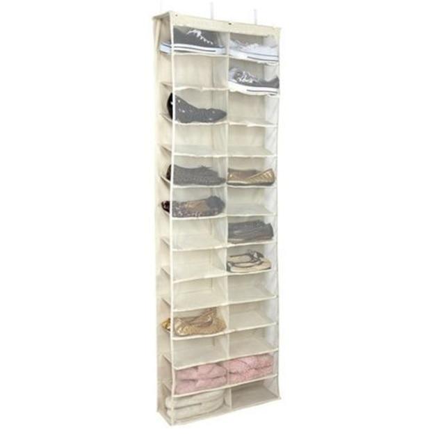 Over The Door Hanging Shoe Organizer Storage Holder Sorter For 26 Pairs Shoes  Rack Hanger Storage