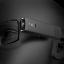 Новые интеллектуальные очки для четкости видения Спорт на открытом воздухе видео лента с Bluetooth гарнитура WiFi для мобильных очков