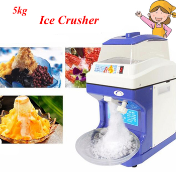цена на Snow Ice Maker Large Commercial Ice Crusher with 5kg Electricity 220V/110V Ice Storage Capacity Model Ice Crusher