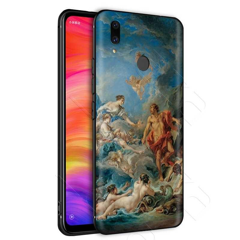 Lavaza Tính Thẩm Mỹ Tranh Camila Cabello Thạch Cao Tượng Ốp Lưng cho Xiaomi Redmi Note 4A 4X5 5A 6 6A 7 s2 Pro Đi Prime Plus