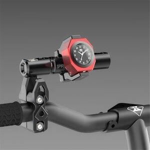 Image 5 - Universal Waterproof 7/8 Motorcycle Bike Handlebar Mount Clock Watch Luminous Clock with Waterproof Temp Thermometer