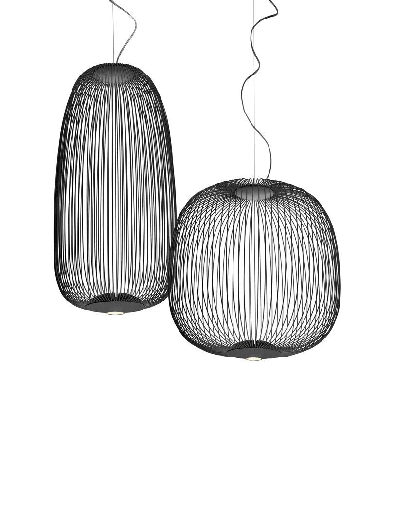 Foscarini Spokes 1/ 2 Modern Metal Chandelier Pendant Lights Led Suspension Lamp Fixture For Living Room Bedroom Decor PA0185