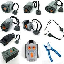 Technic Teile Kompatibel Für Multi Power Funktionen Narr Servo Blöcke Zug Elektrische Motor PF Modell Setzt Gebäude Kits