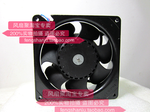 Original ebmpapst DV5214 / 2HA 24V 1.8A 44W 12738 127 * 127 * 38MM aluminum frame cooling fan ffb1324vhe b inverter double ball bearing cooling fan ffb1324vhe dc 24v 14 4w 0 9a 3050rpm 12738 127 127 38mm 12cm