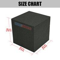 Arrowzoom Corner Acoustic Cube Bass Trap Block Studio Soundproofing Foam 20x20x20 cm (7.8 x 7.8 x 7.8