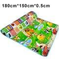 180*150*0.5 cm Tapetes de Jogo Criança esteira Do Jogo Do Bebê Engatinhando Tapete Crianças Tapete Infantil Tapete Tapetes Para Crianças Bebe Crianças Quarto Tapete Playmat