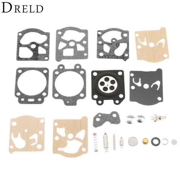 US $2 49 20% OFF|DRELD Carburetor Repair Kit Chainsaw Trimmer Parts Carb  Rebuild Tool Gasket Set for Walbro K20 WAT WA /WT STIHL HS72 HS74 HS76-in