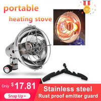 Portable Gas Heater Warmer Heating Stove Camping Stove Outdoor Fishing Hunting Propane Butane Tent Heater with Stand