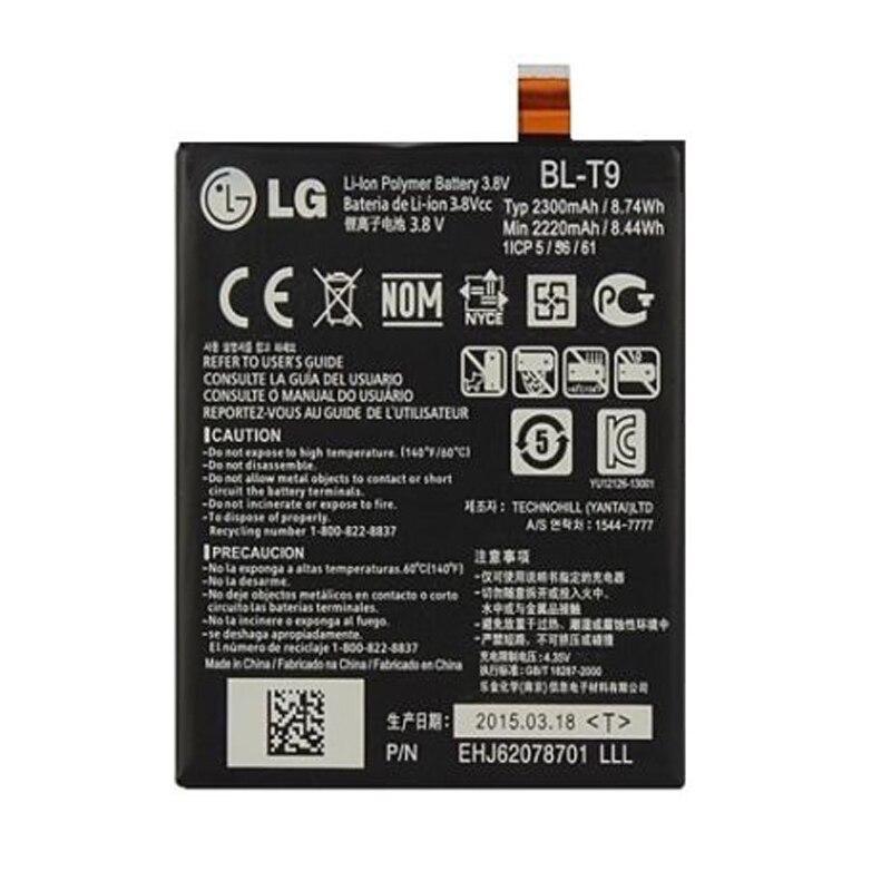 Original LG BL-T9 Batterie für LG Google Nexus 5 LG D820 D821 E980 2300 mAh BLT9