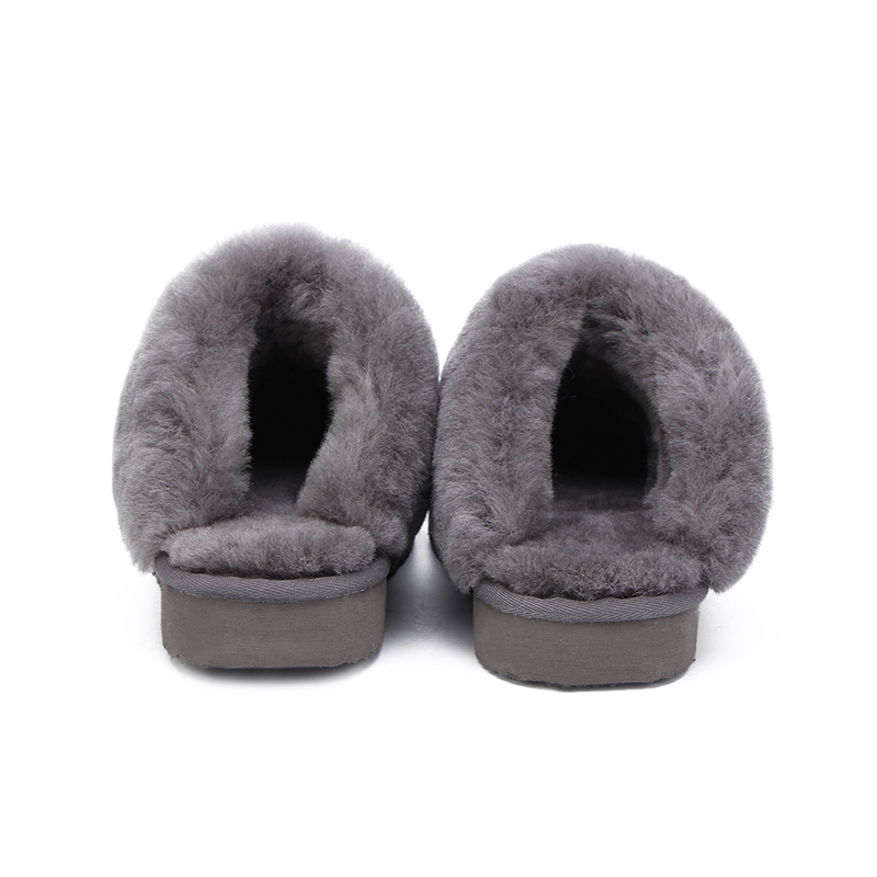HABUCKN Natural Fur Slippers Fashion Female Winter  Slippers Women Warm Indoor Slippers Quality Soft Wool Lady Home Shoes 3