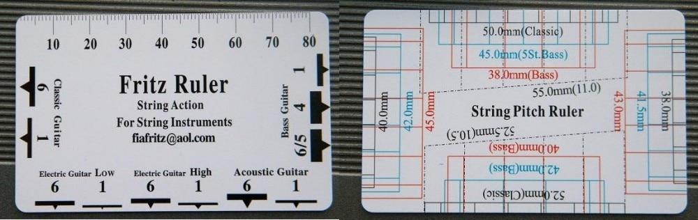 Guitar Strings Pitch : guitar string pitch ruler fritz ruler for acoustic bass electric 5pc in guitar parts ~ Vivirlamusica.com Haus und Dekorationen