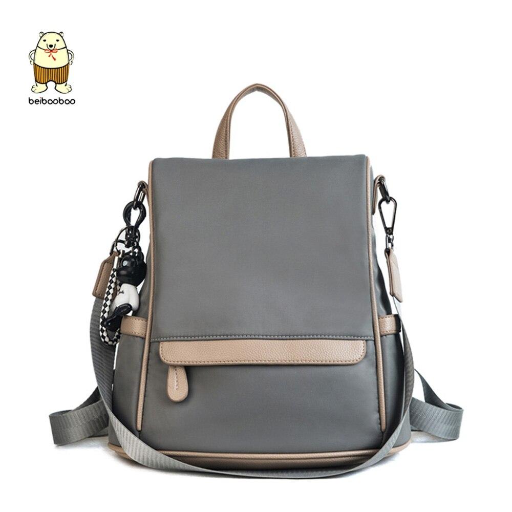 2020 New Anti-theft Backpack Korean Fashion Shoulder Bag Nylon Cloth Student Bag Mochila Feminina
