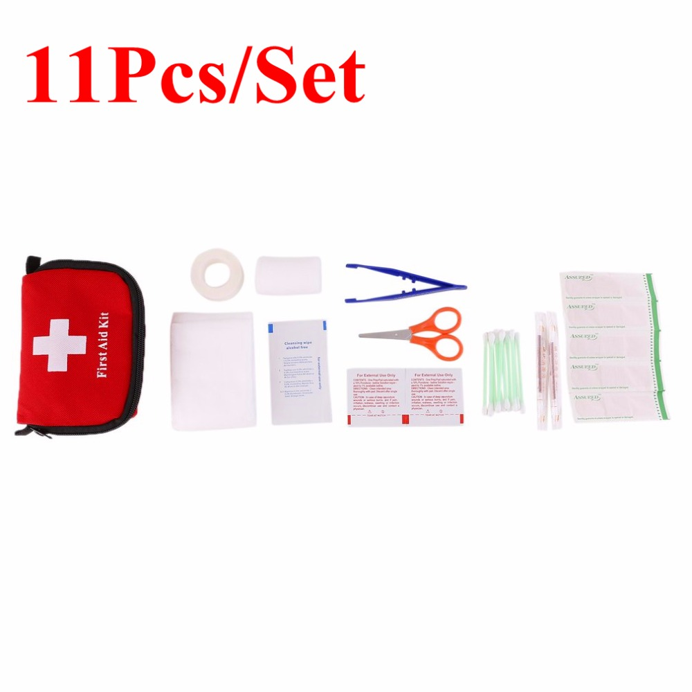 Hot Sale Emergency Survival Kit Mini Family First Aid Kit Sport Travel kit Home Medical Bag Outdoor Car First Aid Kit цена