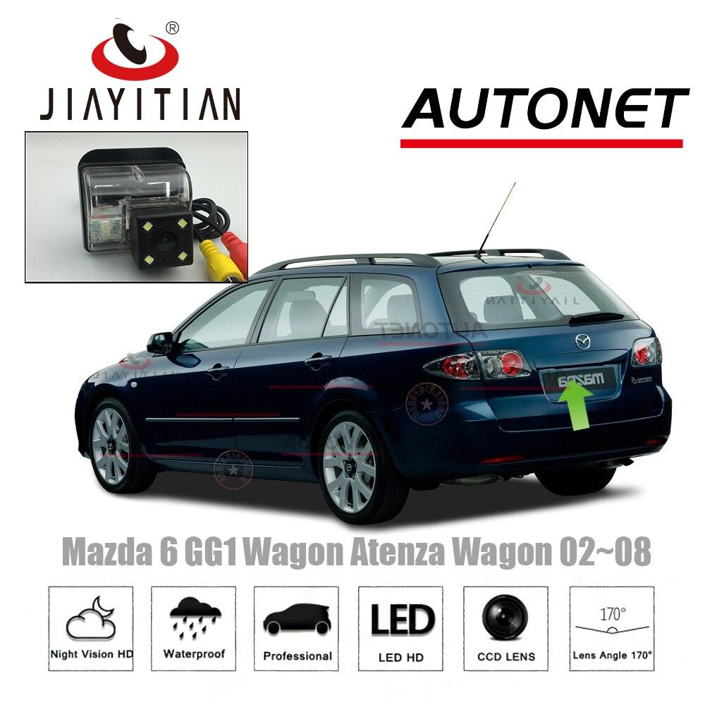 JiaYiTian Car camera For Mazda 6 mazda 626 5D Wagon 2002~2008 CCD Night Vision Reverse camera license plate camera backup camera