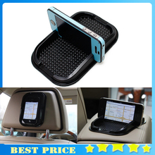Black Car Dashboard Sticky Pad Mat Anti Non Slip Gadget Mobile Phone GPS Holder Interior Items Accessories 0807