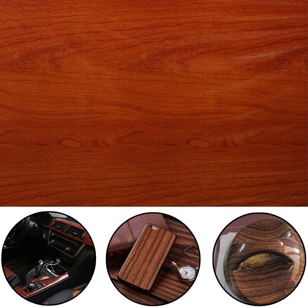 Mayitr Hydrographic Film Wood Grain 50 100cm Wood Grain Print Hydrographic Water Transfer Film Hydro Dipping Film in Decals Stickers from Automobiles Motorcycles