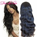 Hot selling Virgin Full lace Brazilian wigs with baby hair Body wave Glueless lace front human hair wigs with natural hairline